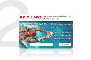 Nous vous retournons votre carte, accompagnée de notre échantillon de même technologie, que vous pourrez tester sur votre système.