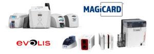 Imprimante de badge EVOLIS comme la ZENIUS et la Primcy, et imprimante de badge MAGICARD comme la PRONTO, l'ENDURO et la RIO PRO 360