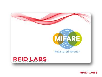 Badge magnétique puce sans contact MIFARE Classic NXP personnalisable