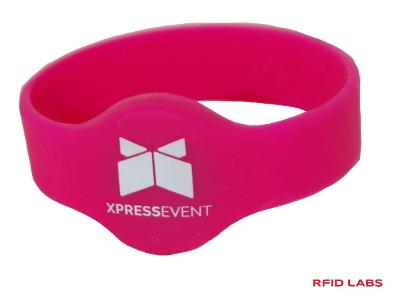 Bracelet magnétique RFID Silicon pour accès piscine et spa