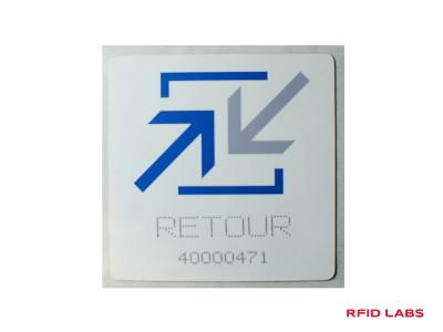 Etiquette magnétique RFID UHF personnalisable et adhesive pour la traçabilité industrielle