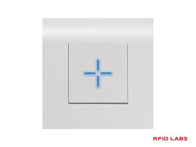 Lecteur de badge-carte magnétique RFID encastrable Stid pour contrôle d'accès aux batiments