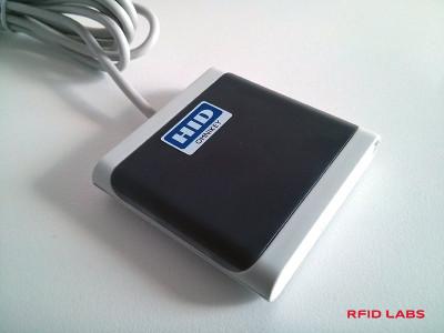 Lecteur de Badge RFID USB HID OMNIKEY 5022 CL pour bureau