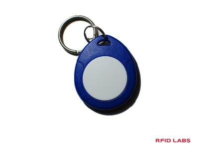 porte-clé badge magnétique pour controle d'accès MIFARE ou 125 Khz