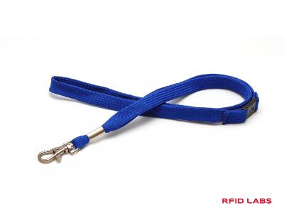 cordon tour de cou sécuritaire avec crochet nickelé de qualité