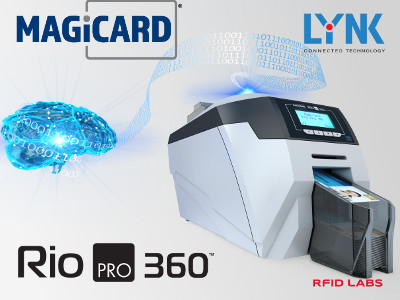 Imprimante de badge rfid Magicard RIO PRO 360