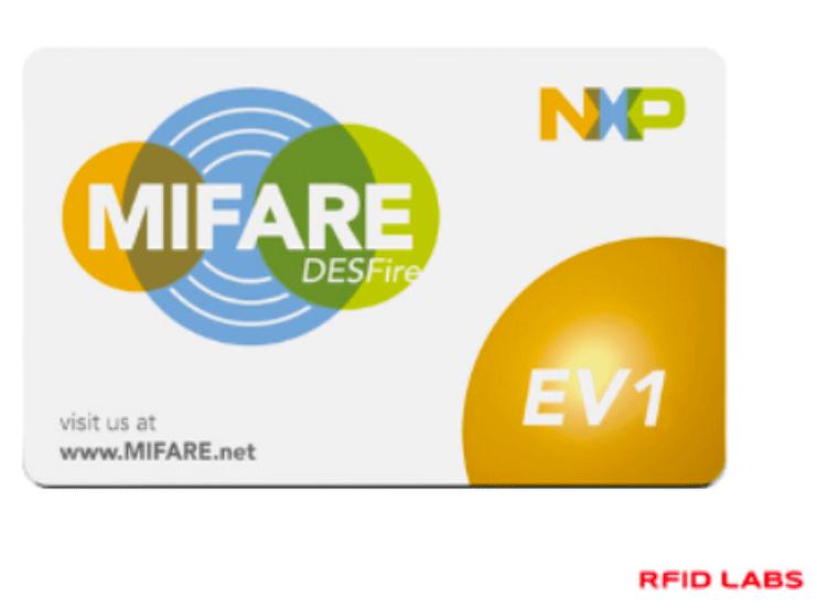 Carte-badge-RFID-MIFARE-DESFire-ULTRALIGHT