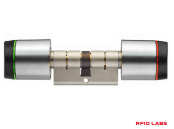 Serrure carte RFID autonome details