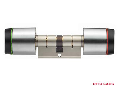 Serrure à carte RFID autonome Salto pour contrôle d'accès à pile