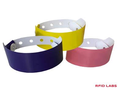 Bracelet piscine jetable RFID magnétique