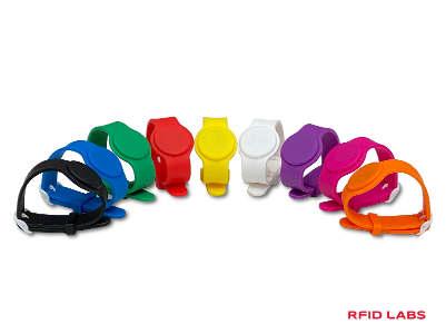 Bracelet silicon piscine réglable MIFARE
